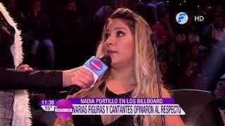 Varias Figuras Opinaron Sobre La Participación De Nadia Portillo En Los Billboard