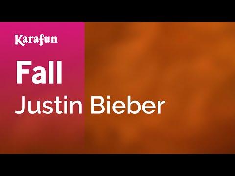 Fall - Justin Bieber | Karaoke Version | KaraFun