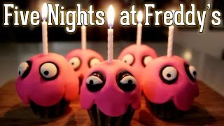 How to Make CHICA'S CUPCAKE – Five Nights at Freddy's