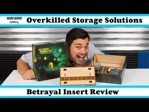Never Bored Gaming - Overkilled Storage Insert Review