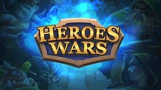 Heroes Wars - Summoners RPG (By K-MOBILE) - iOS / Android - Gameplay