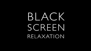 4K 10 hours - Black Screen, Sheltering under a Tropical Storm Audio - High Quality Recording
