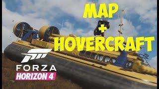 Forza Horizon 4 MAP + HOVERCRAFT