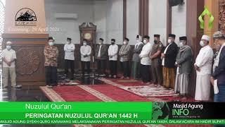 Peringatan Nuzulul Qur'an 1442H