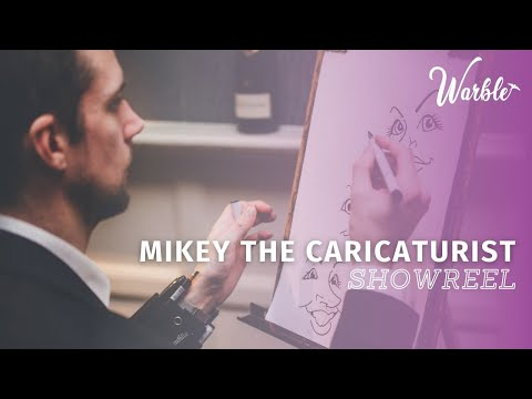 The Midlands Caricaturist Video