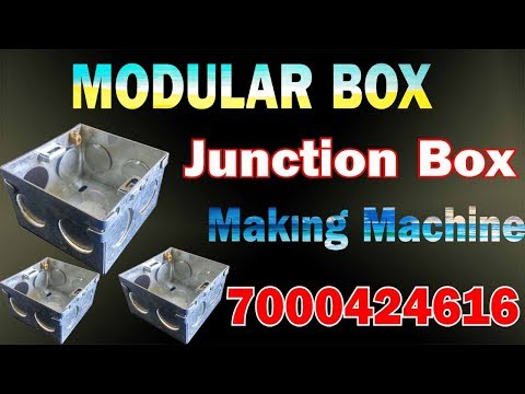 Metal Junction Box Making Plant