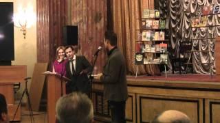 Алексей Воробьев, Воробьев передает свою любимую книгу библиотеке