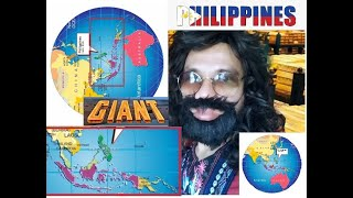 GIANT PHILIPPINE MAP DISCOVERED IN GOOGLE? SHOCKING PHILIPPINES WILL BECOME A GIANT UTOPIA SOON?