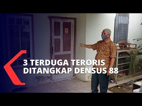 terduga teroris di palembang ditangkap densus