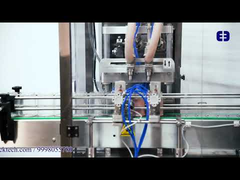 Servo Cream Filling Machine
