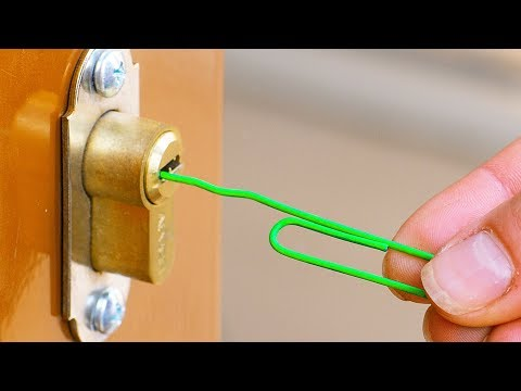 30 SMART TRICKS TO OPEN ANYTHING AROUND YOU