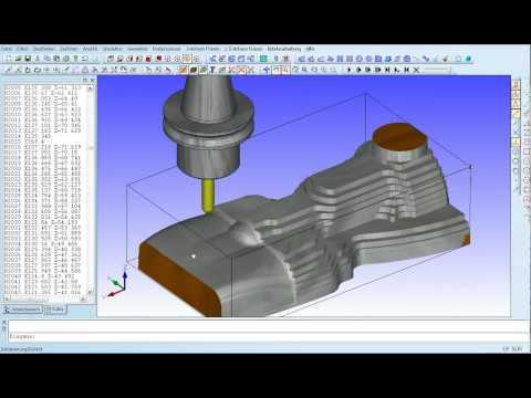 Condacam 2.1 CNC-Simulation-Halterkollision