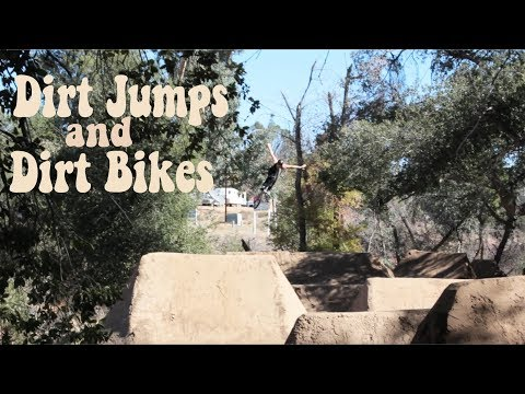 DIRT JUMPS & DIRTBIKES with LARRY EDGAR