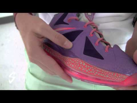 """9fd5c44a31d Video  Nike Lebron X """"Area 72"""" All Star Galaxy Review by  Stickie213 ..."""