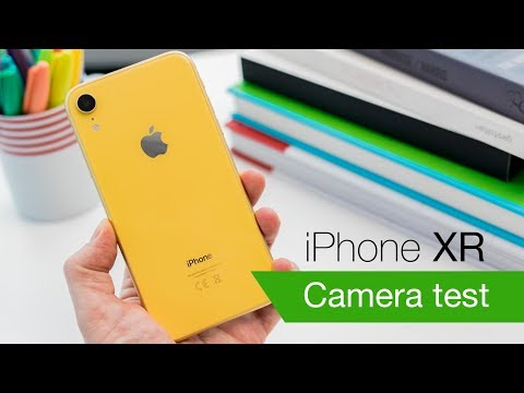 iPhone XR camera and video review