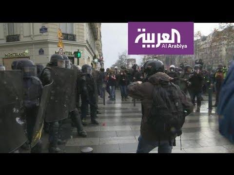 العرب اليوم - شاهد:صدامات في جادة