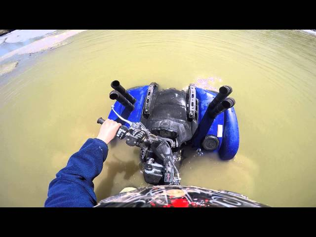 Grizzly 700 second snorkel test and fail!!!