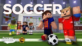 [MAP] PLAY SOCCER (or Football) In Minecraft Bedrock (mcpe)
