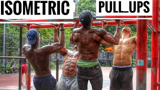Bam Baam - How to do pull ups if you can't | Pull up