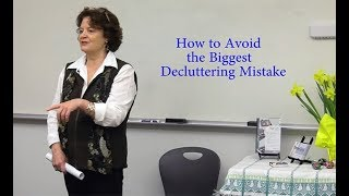 How To Avoid The Biggest Decluttering Mistake