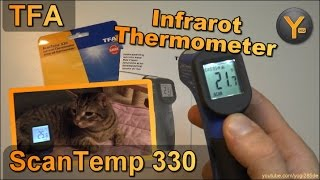 Review: TFA ScanTemp 330 / Infrarot Thermometer mit Laserpointer