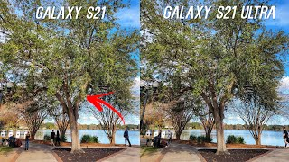 Galaxy S21 Ultra vs Galaxy S21 Camera Test Comparison After Update!