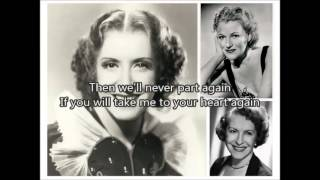 GRACIE FIELDS - Take Me to Your Heart Again   - YouTube