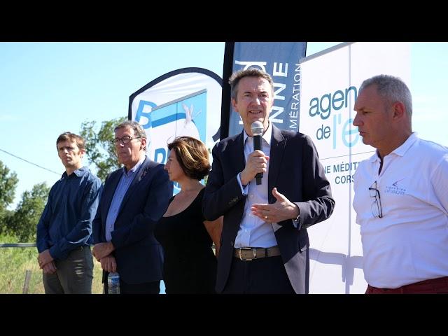 Roquefort des Corbières: Réutilisation des eaux usées traitées pour irriguer