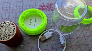 Multi Connection Charger and EWA A107S wireless speaker