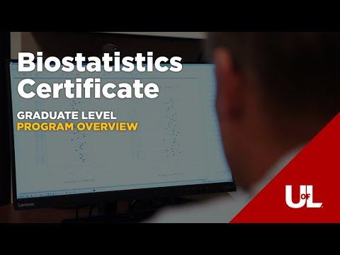 Online Biostatistics Certificate | Become a Data Scientist! - YouTube