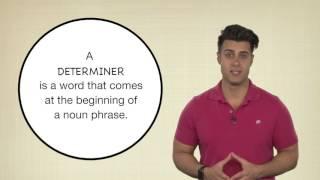 Everyday Grammar: Determiners