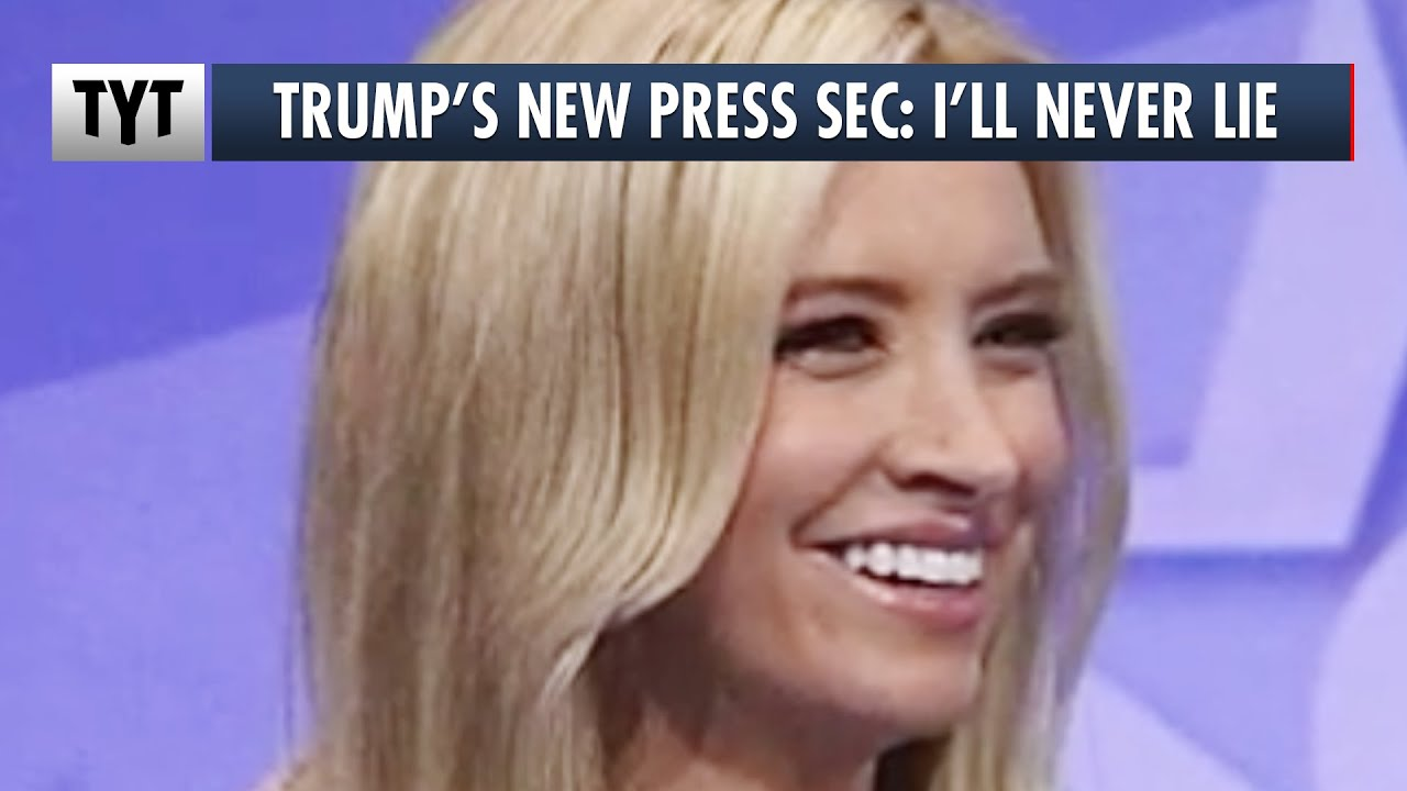 Trump's New Press Sec Makes An Impossible Promise thumbnail
