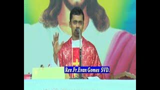 {Sunday Mass} Holy Eucharist celebrated by Rev.Fr.Evan Gomes SVD at DCC Mulki on 30-05-2020