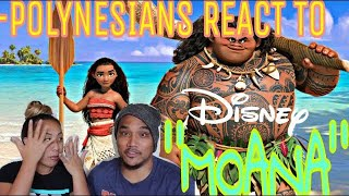 Disney Moana Official Trailer Reaction 2016
