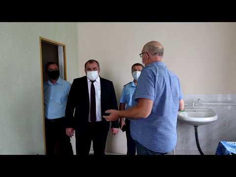 Представители власти посетили Киселевский ФАП