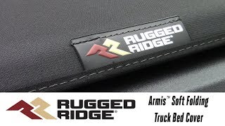 In the Garage™ with Total Truck Centers™: Rugged Ridge Armis™ Soft Folding Truck Bed Cover