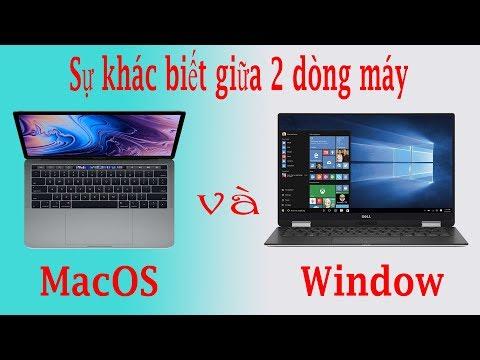 Sự Khác Biệt Giữa Laptop Chạy Windows Và  Macbook Chạy Mac OS