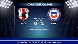 Japón Vs. Chile - Grupo C - Copa América Brasil 2019