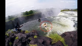 Most Dangerous Place on Earth  | Jumping Into Devil's Pool At Victoria Falls | Neel Travelogues