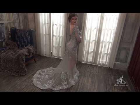 Áo cưới đẹp Asoen Bridal - Mẫu áo cưới xuyên thấu sexy
