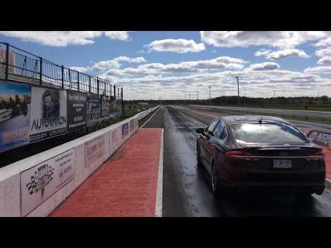 Livernoise Motorsport Stg3V7 +REV LIMIT Ford Fusion Sport 12.039 @ 112.92 1/4 mile - 94 + BOOSTANE