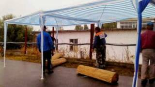 preview picture of video 'Vásárosnamény I. Hídi Vásár és Munkálatai :)'