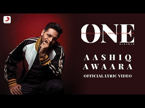 Badshah - Aashiq Awaara | Sunidhi Chauhan | ONE Album | Lyrics Video Mp3
