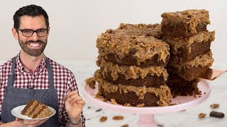 best german chocolate cake from cake mix