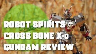 Bandai Robot Spirits Cross Bone Gundam X-0 Review January 2018 Exclusive