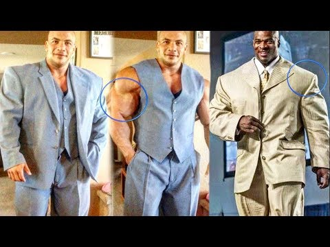 When Bodybuilders Wear Suits - Too Big For Normal Clothes Mp3