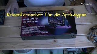 Prepper Fernseher Xoro PTL1010  für unterwegs ( Falls mal die Apokalypse ausbricht )