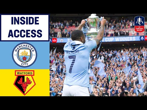 Inside Access to Manchester City FA Cup Win! | Manchester City 6-0 Watford | Emirates FA Cup