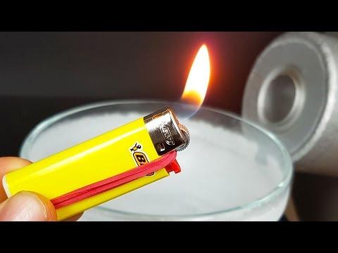 Science Experiment: LIQUID NITROGEN vs LIGHTER