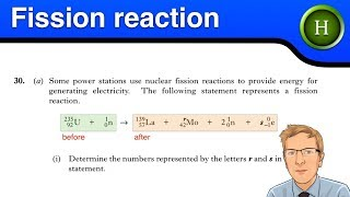 Higher Physics - The Fission reaction